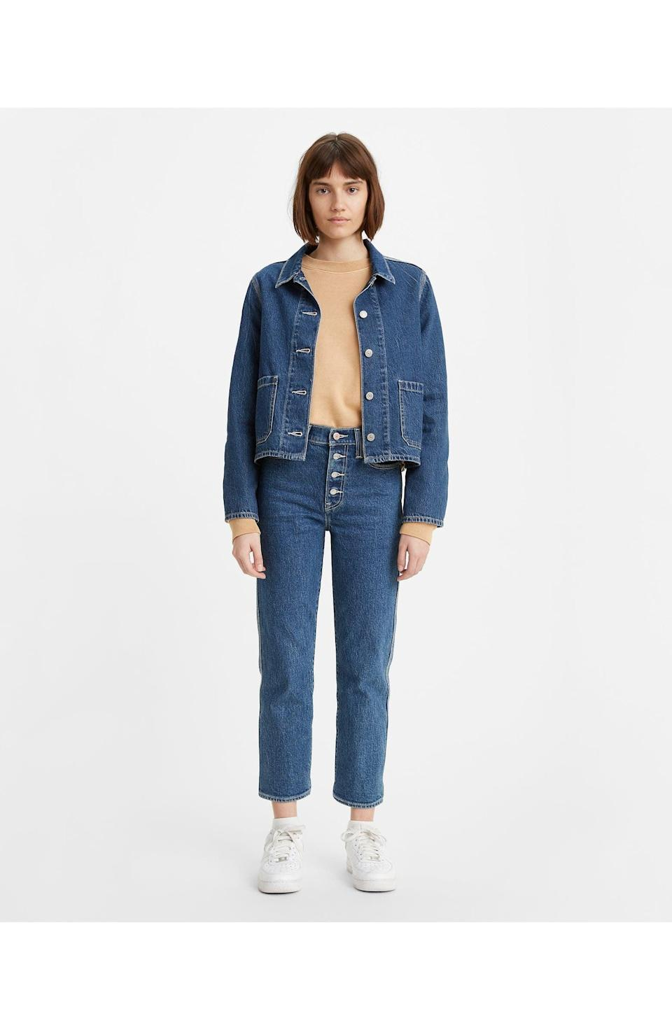 <p>Get yourself these <span>Levi's Wedgie High Waist Crop Straight Leg Jeans</span> ($40, originally $98), and watch how often you end up wearing them.</p>