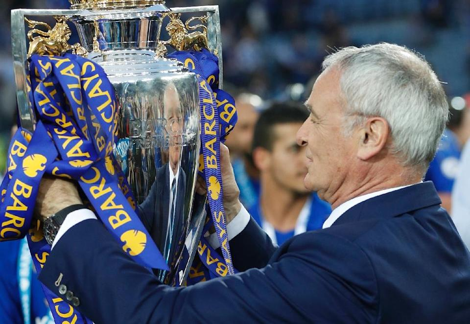 Leicester's 5,000-1 success has earned manager Claudio Ranieri sporting immortality and when he returns to the Stamford Bridge touchline, the 64-year-old Italian will do so as a hero (AFP Photo/Adrian Dennis)