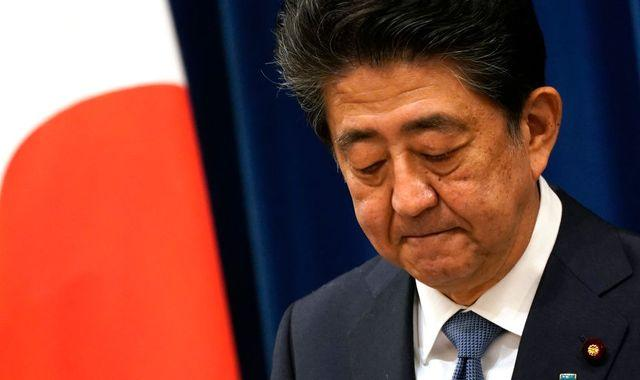 Shinzo Abe makes 'gut-wrenching' decision to resign as Japan's PM due to ill health