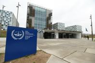 FILE PHOTO: The International Criminal Court building is seen in The Hague