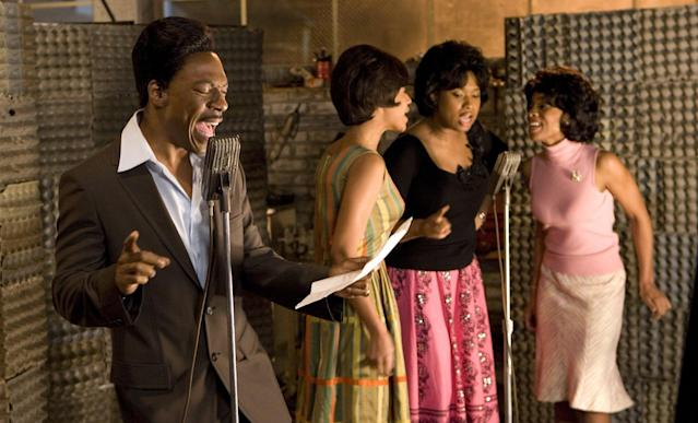Eddie Murphy, Beyoncé Knowles, Jennifer Hudson, and Anika Noni Rose in <em>Dreamgirls</em>. (Photo: Paramount Pictures)