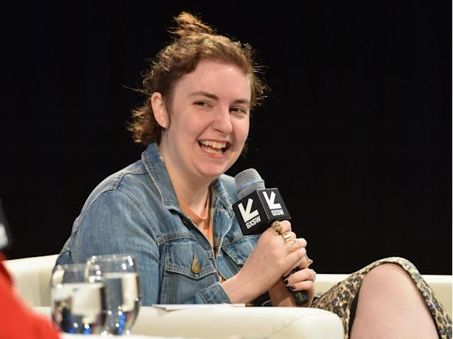 Lena Dunham speaks during SXSW on March 10, 2018, in Austin, Texas. (Photo: Amy E. Price/Getty Images)