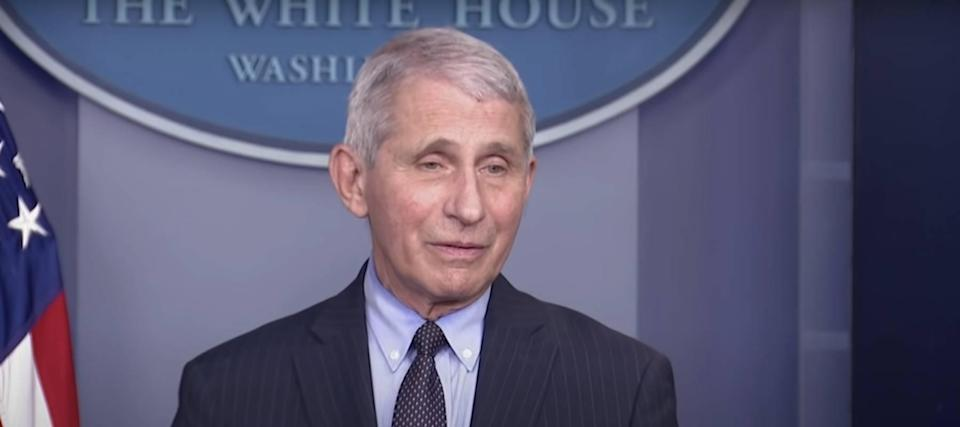 Dr. Anthony Fauci is paid more than the president — here's how much he earns
