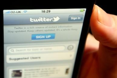 Picture of the Twitter app
