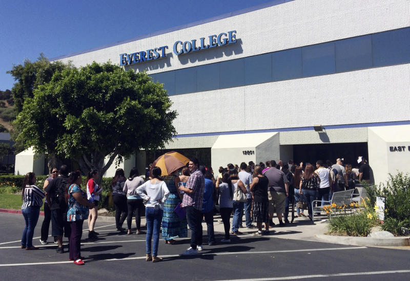 California sues over Corinthian student debt relief claims