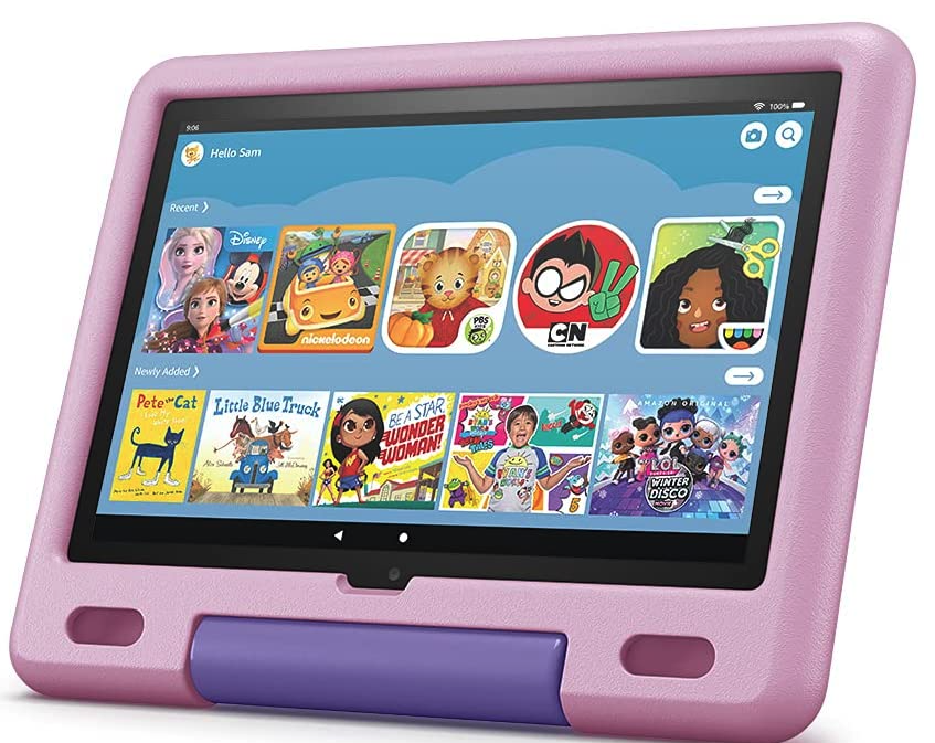 Fire 10 Kids Edition tablets for reading