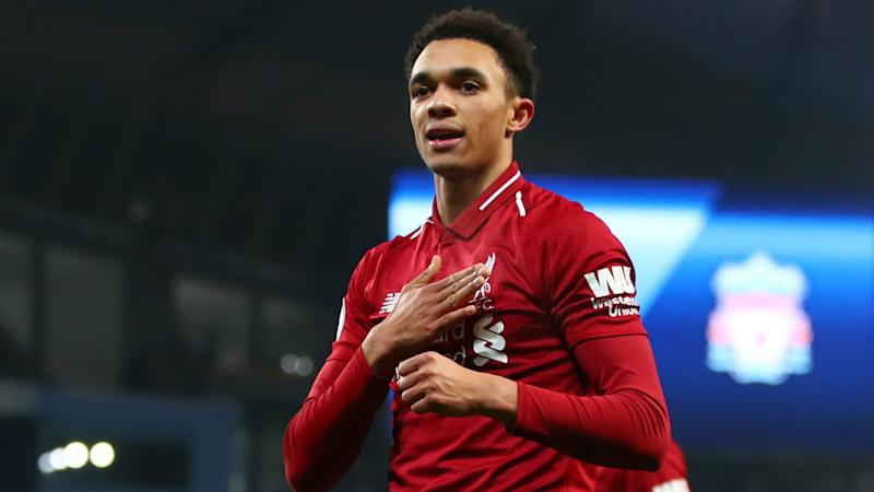 the latest 5fa41 45ca9 Alexander-Arnold tells Liverpool to be inspired by ...