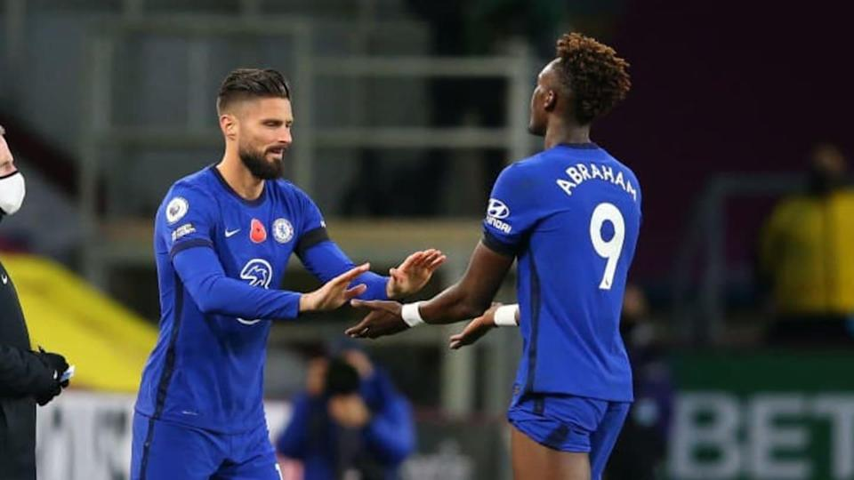 Abraham e Giroud | Alex Livesey/Getty Images