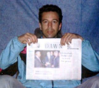 Wall Street Journal reporter Daniel Pearl is shown in this photo obtained in January 2002. Khalid Sheikh Mohammed confessed to the beheading of the American journalist. Associated Press