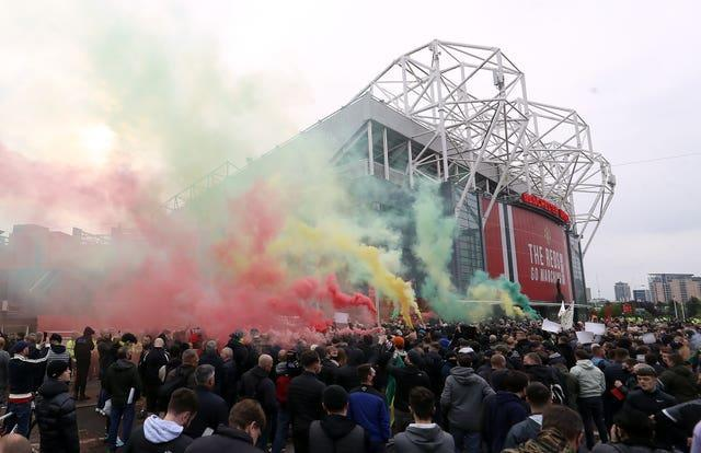 Recent Manchester United games have seen fan protests at Old Trafford