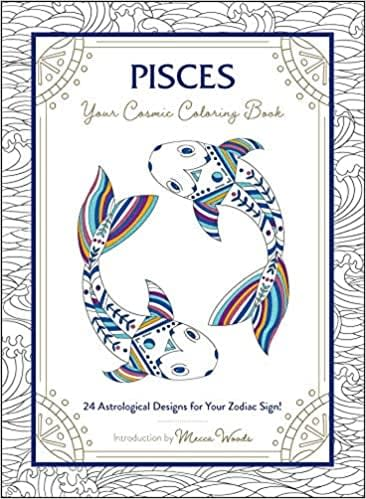 <p>The <span>Pisces: Your Cosmic Coloring Book</span> ($9) is perfect for relaxation.</p>