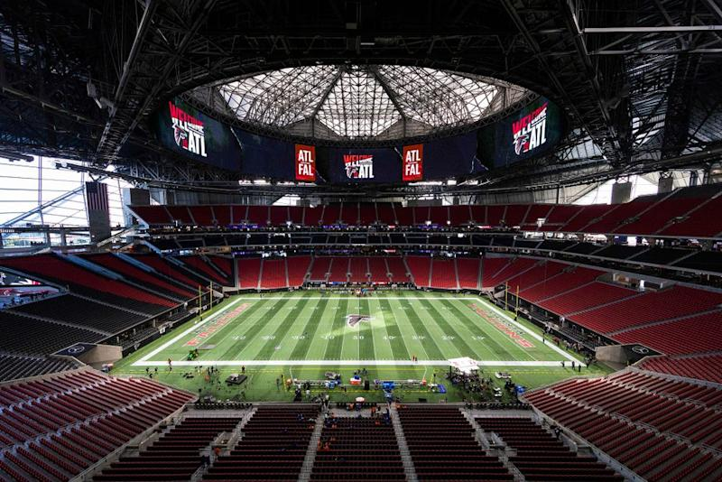 Mercedes-Benz Stadium | Ric Tapia/Icon Sportswire via Getty