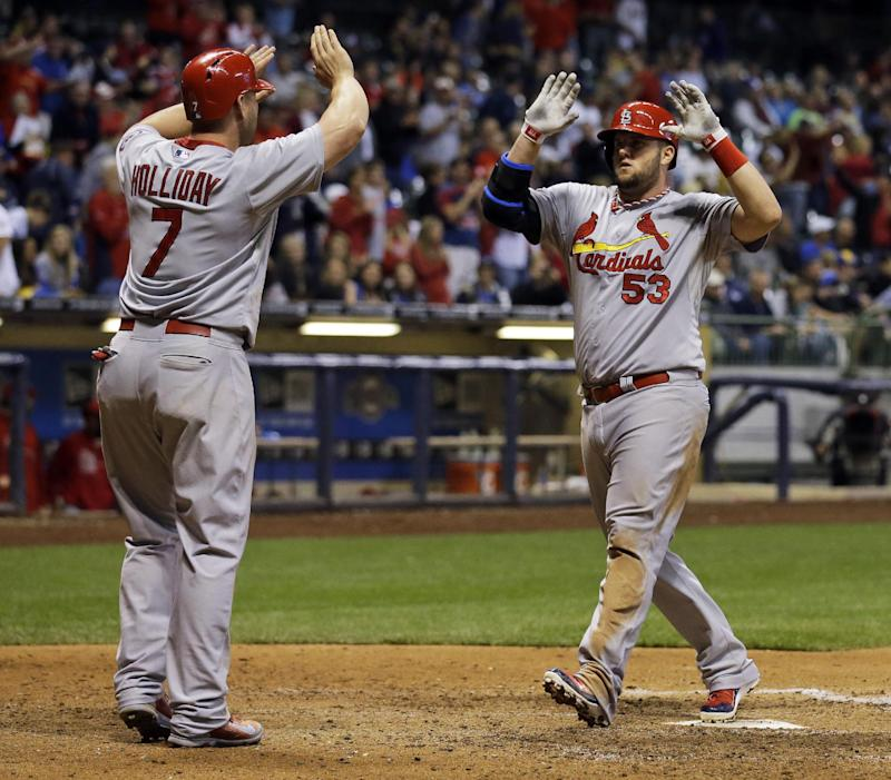 Beltran lifts Cardinals over Brewers in 10th, 7-6