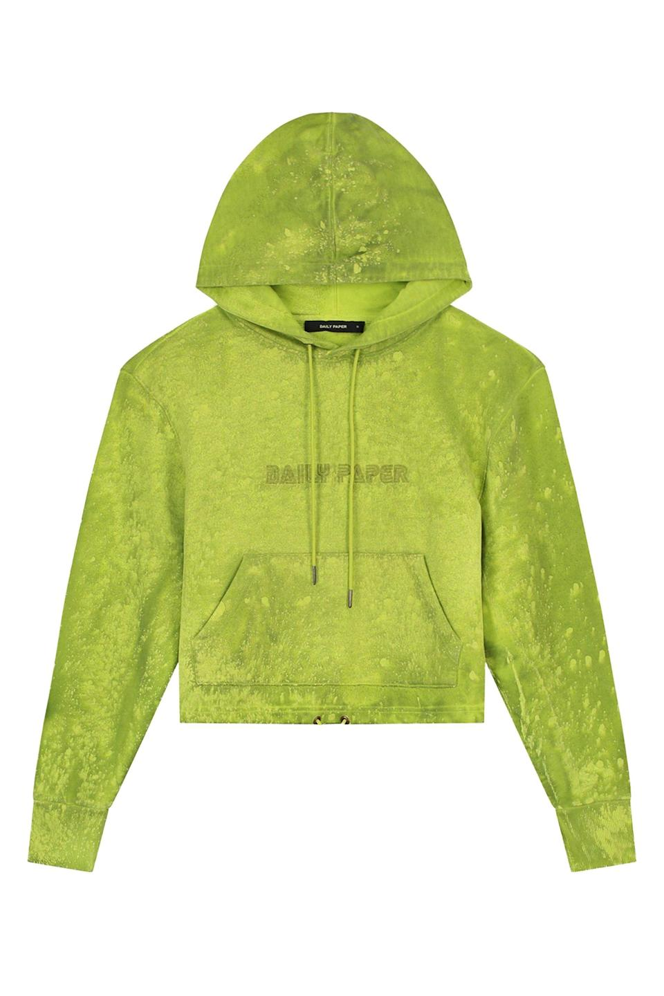 "<p><strong>Daily Paper</strong></p><p>dailypaperclothing.com</p><p><strong>179.00</strong></p><p><a href=""https://www.dailypaperclothing.com/collections/women-all/products/acid-lime-jowa-hoody?variant=34681833160838"" rel=""nofollow noopener"" target=""_blank"" data-ylk=""slk:Shop Now"" class=""link rapid-noclick-resp"">Shop Now</a></p><p>The perfect hoodie does not exi-</p>"