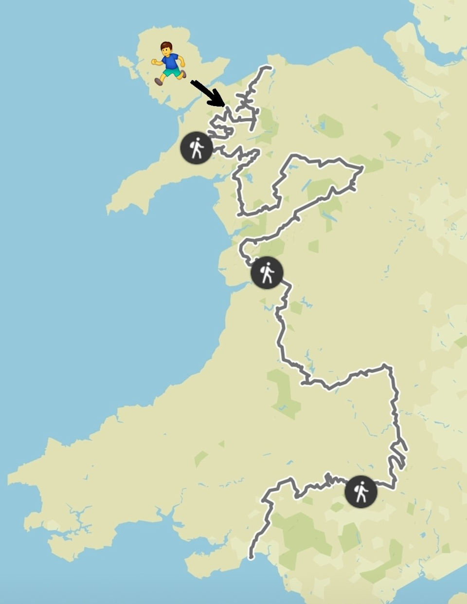 The route covers every peak in Wales over 2,000 feet in height, getting progressively harder (Will Renwick)