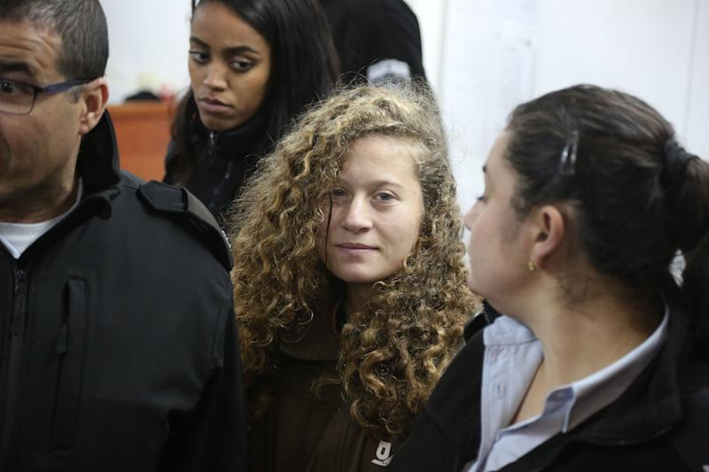 Israel Indicts Palestinian Girl Who Slapped Soldiers