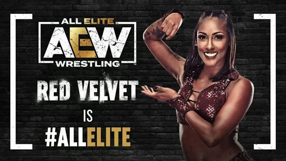 Red Velvet of Miami signed with AEW in late March.