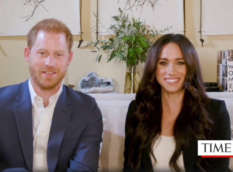 Prince Harry, Meghan Markle, Time100 Talks, interview