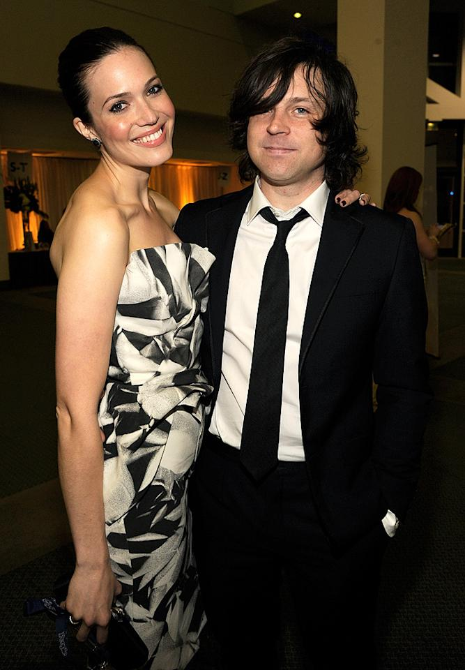 "<p class=""MsoNormal"">Having dated on and off since March 2008, Mandy Moore and musician Ryan Adams couldn't wait to take the plunge after they got engaged in February 2009. Just one month later, the couple decided to get hitched in an extremely low-key, last-minute ceremony officiated by Pastor Steve Schulte, who revealed to <i>People</i> that one of their reps had arranged for him to marry the couple at the Whitefield Chapel at Bethesda Home for Boys near Savannah, Georgia, only the day before. Aside from Mandy and Ryan, only the pastor was in attendance, making it a very causal-yet-romantic wedding indeed. Three years later, it sounds like their marriage is as relaxed as their nuptials were. ""We're big homebodies. We never want to leave [the house],"" the actress-singer told <em>People</em>. ""I feel very supported and loved and at peace. My life has reached this really beautiful point where I can sort of look around and go, 'Wow. I'm so lucky.' I got my own little happy ending.""</p>"