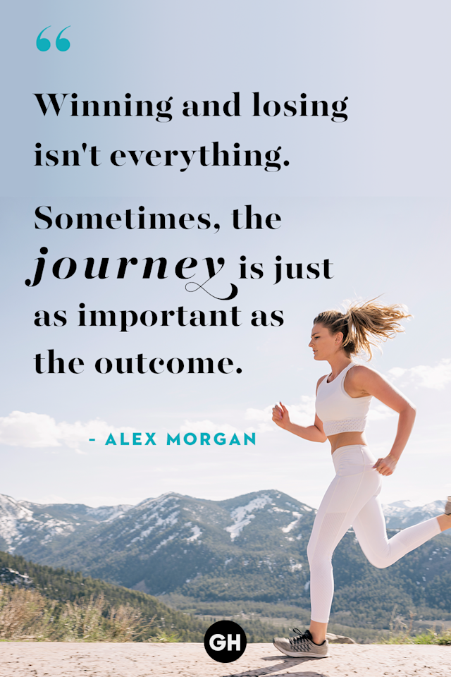 <p>Winning and losing isn't everything. Sometimes, the journey is just as important as the outcome.</p>