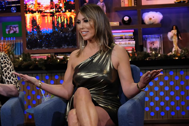 WATCH WHAT HAPPENS LIVE WITH ANDY COHEN -- Episode 16196 -- Pictured: Kelly Dodd -- (Photo by: Charles Sykes/Bravo/NBCU Photo Bank via Getty Images)