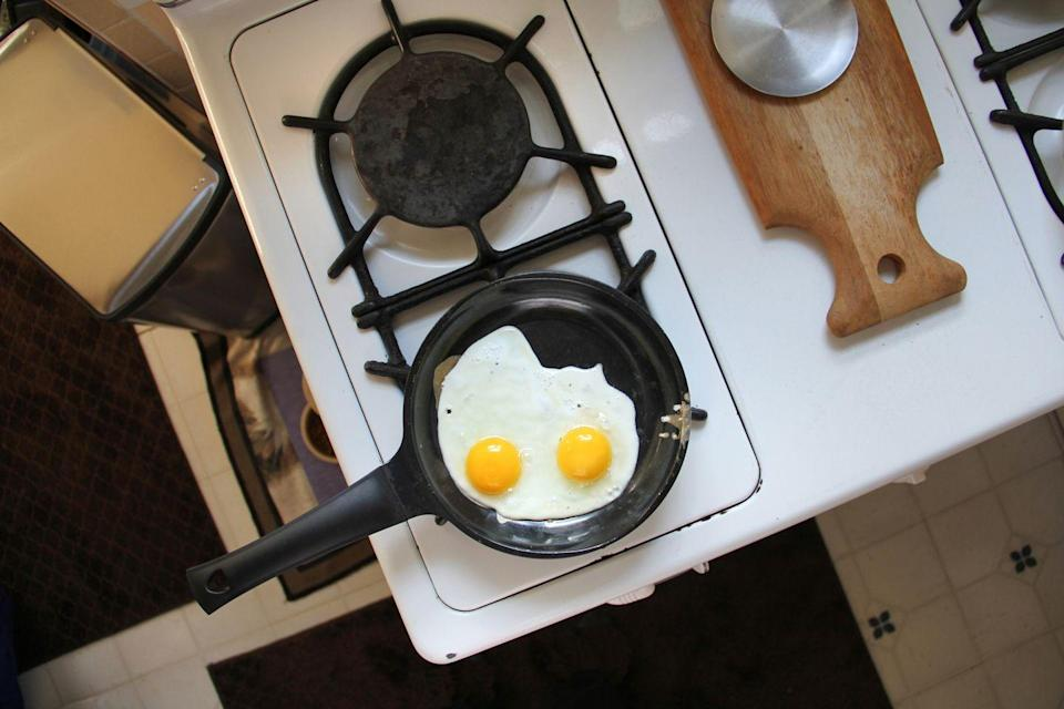 <p>Like retro tech goods, vintage kitchen paraphernalia is a hot commodity on the collectibles market. Cast iron skillets are a particularly beloved product. If you find one in your basement and you don't fancy lighting a fire under it, you can sell pans from Griswold and other makers for hundreds of dollars.</p>