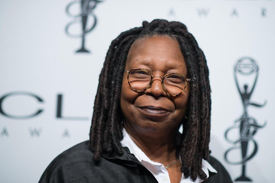 <p>Whoopi Goldberg calls out 'dictator' Trump</p> (Getty Images)