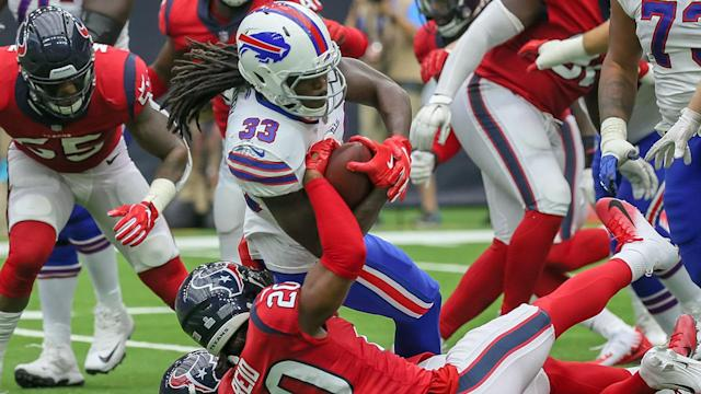Chris Ivory will be the lead back for the bills if LeSean McCoy has to miss time. (Photo by Leslie Plaza Johnson/Icon Sportswire via Getty Images)