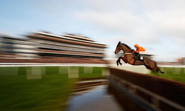 "<span class=""element-image__caption"">Thistlecrack showing off at Newbury. The top-class chaser is recovering from a tendon injury.</span> <span class=""element-image__credit"">Photograph: Alan Crowhurst/Getty Images</span>"