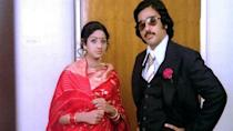 <p>Kamal Haasan and Sridevi essay the lead roles in this psychological thriller. Loosely inspired by Raman Raghav's grisly crimes, in this film Kamal plays the role of Dileep who is traumatised by women's behaviour in his childhood and later becomes a psychopath misogynist who kills women after having sex with them. Hassan plays a mentally unstable killer who seduces nubile girls and later kills and buries them in his garden, planting a rosebush over their graves. Before long, he is smitten with Sridevi's character and tries to reform himself. But just before marriage, Sridevi chances upon his secret and manages to escape from him in the nick of time. </p>