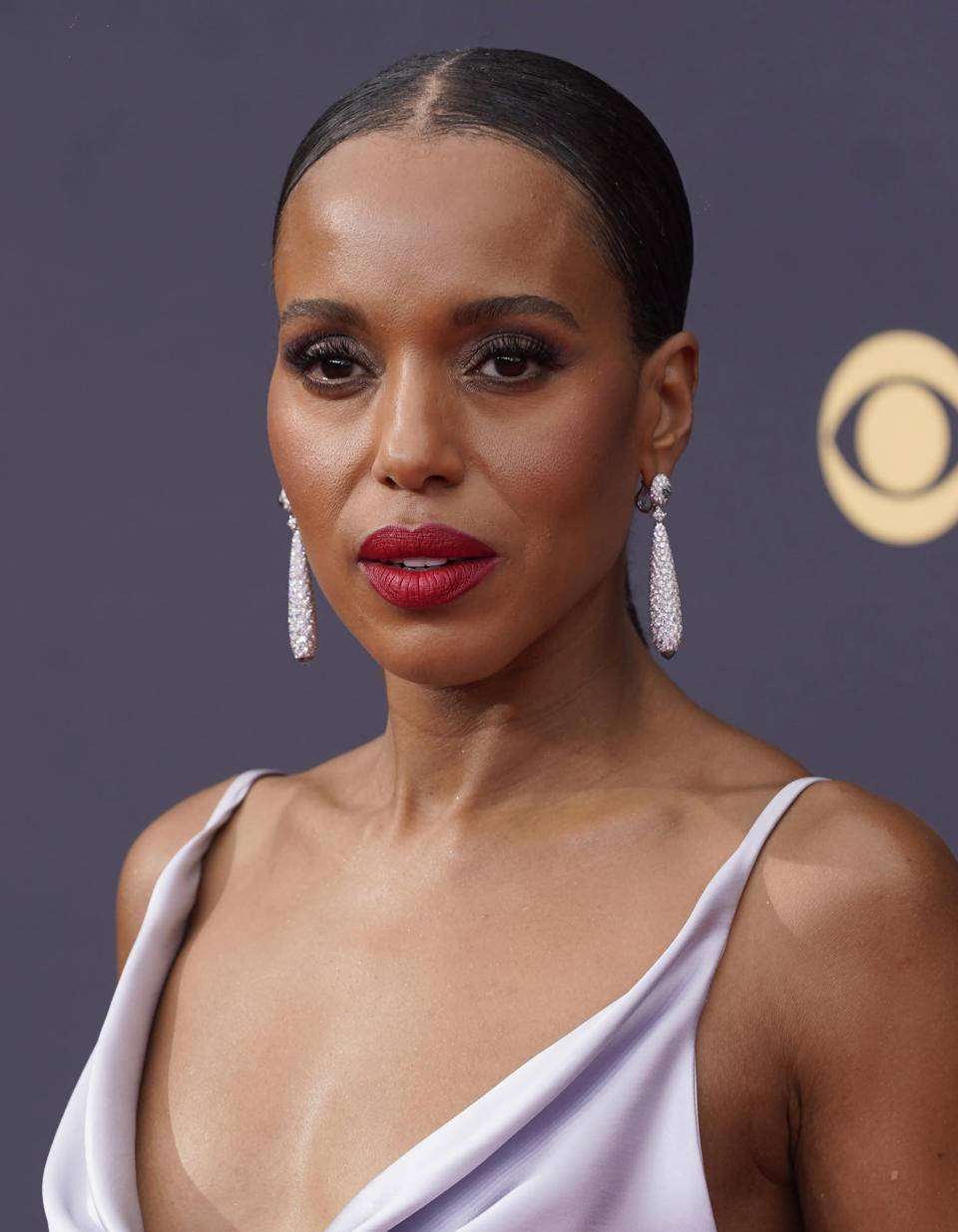 Kerry Washington arrives at the 73rd Primetime Emmy Awards. - Credit: Chris Pizzello/Invision/AP