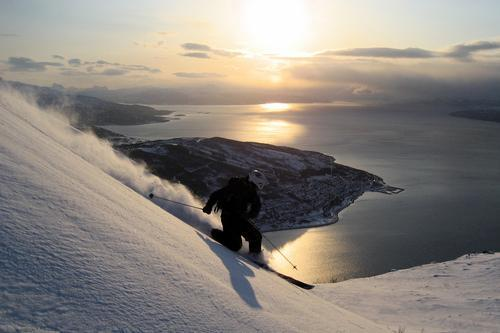 skiing in norway
