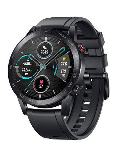 "<p><a class=""link rapid-noclick-resp"" href=""https://www.amazon.co.uk/HONOR-MagicWatch-Activity-Exercise-Microphone/dp/B082PCP6KT?tag=hearstuk-yahoo-21&ascsubtag=%5Bartid%7C1923.g.9762%5Bsrc%7Cyahoo-uk"" rel=""nofollow noopener"" target=""_blank"" data-ylk=""slk:SHOP"">SHOP</a></p><p><strong>Best for: </strong>Android users<br></p><p>Apple users haven't got to think too hard about their choice of smartwatch. It's not so simple for Android users: the smartwatch world is basically the Apple Watch, then everything else for non-iOS users. The latest entry into that busy market floor is the Honor Magic Watch 2. <br><br>This super-slim, pleasingly-designed sports watch features an excellent battery life, lasting two weeks on one charge, and a full menu of features including Bluetooth calls, music playback, sleep, stress and heart rate monitoring, alongside GPS tracking. Its water resistance (to 50m) and lack of bulk make it an excellent fitness monitor. All this, plus an 'always on' display, which levels the playing field with those smug Apple Watch Series 5 owners.<br><br>Honor Watch Magic 2; £132; <a href=""https://www.amazon.co.uk/HONOR-MagicWatch-Activity-Exercise-Microphone/dp/B082PCP6KT"" rel=""nofollow noopener"" target=""_blank"" data-ylk=""slk:amazon.co.uk"" class=""link rapid-noclick-resp"">amazon.co.uk</a><br><br></p>"