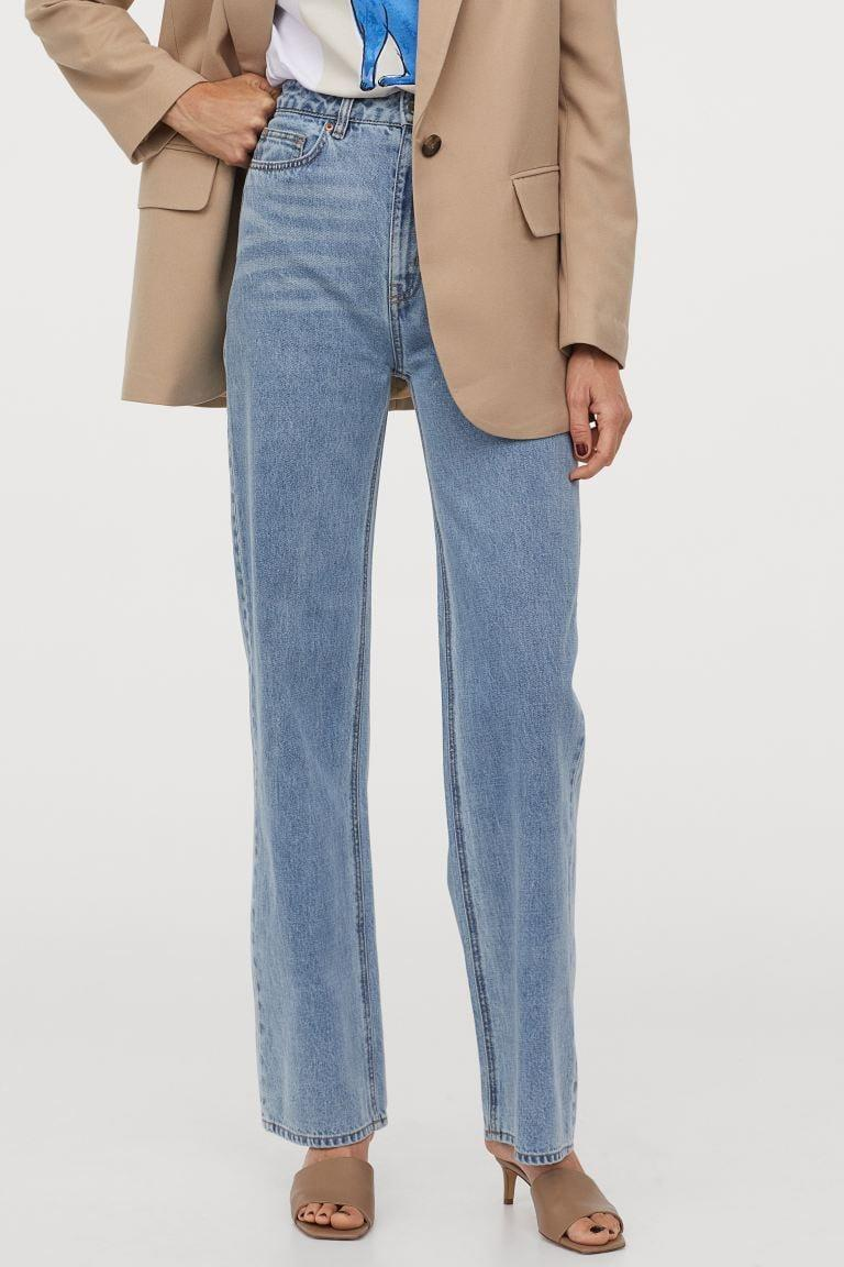 <p>These <span>H&amp;M Wide High Jeans</span> ($40) would look great styled with a blazer.</p>
