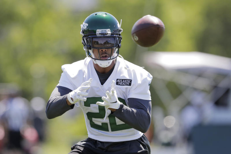 New York Jets cornerback Trumaine Johnson will be cut by the team. (AP Photo/Julio Cortez)