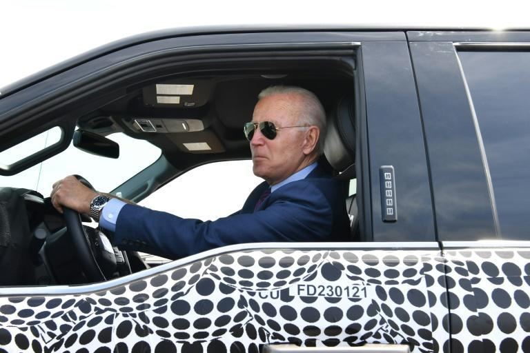 President Joe Biden is aiming for half of all cars sold in the United States by 2030 to be zero-emission vehicles
