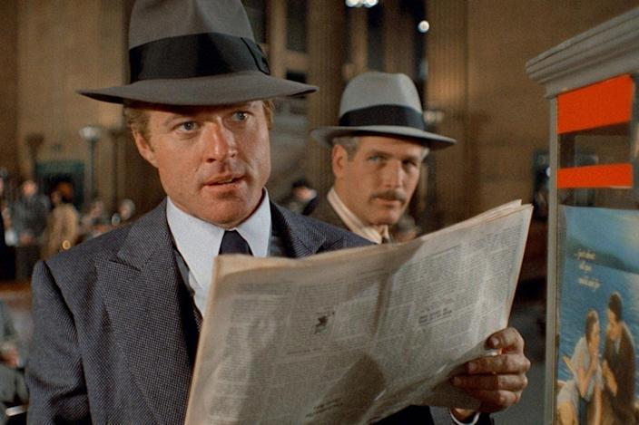 """(L-R) Robert Redford and Paul Newman in """"The Sting."""""""