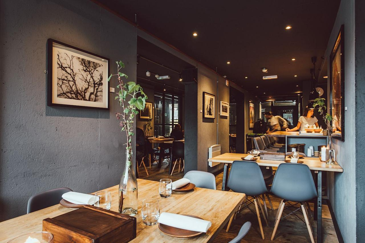 """<p>Believe it or not, this restaurant is made from up-cycled shipping containers. Bound to make every one of you curious! You can expect a immersive and intimate dining experience coupled with tasty small plates. They also have great wine. </p><p>294 Shalesmoor, Sheffield, S3 8US</p><p><a class=""""body-btn-link"""" href=""""http://www.jororestaurant.co.uk/"""" target=""""_blank"""">FIND OUT MORE</a> </p>"""