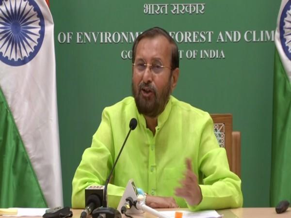 Union Minister for Environment, Forest, and Climate Change Prakash Javadekar. (Photo/ ANI)