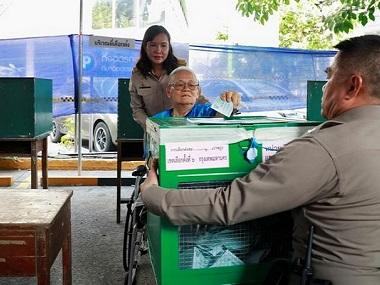 Thailand electorate votes in general elections after nearly five years of military rule; exiled ex-PM Thaksin Shinawatra in fray