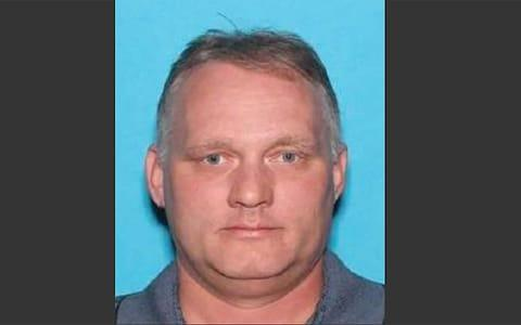 <span>A driving licence picture of Robert Bowers</span> <span>Credit: AFP </span>