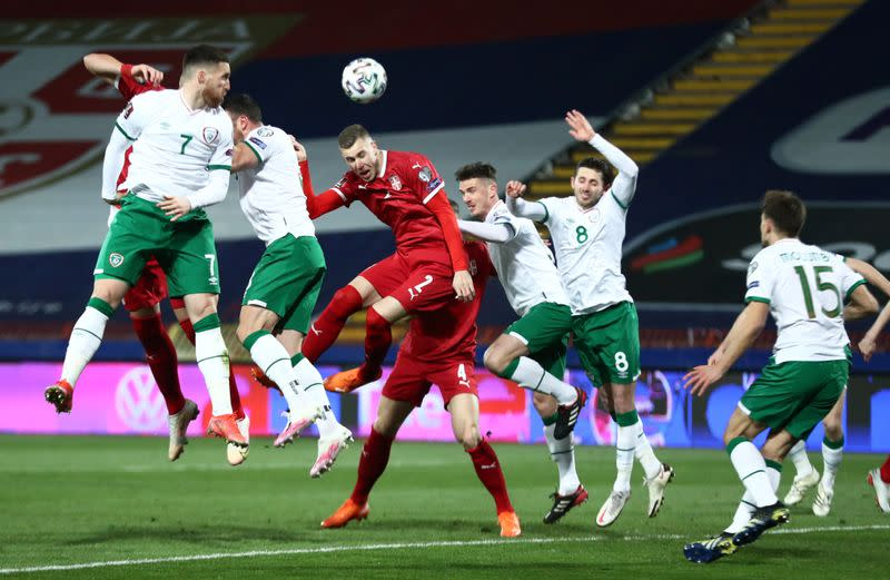 World Cup Qualifiers Europe - Group A - Serbia v Republic of Ireland