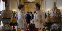 """<p>Certain sets may look familiar to Netflix viewers, including Wilton House. The Wiltshire-based estate provided interior shots for the Duke and Duchess's home and Queen Charlotte's residence on <em>Bridgerton</em>, as well <a href=""""https://www.housebeautiful.com/design-inspiration/a35100240/bridgerton-netflix-filming-locations-houses-homes/"""" rel=""""nofollow noopener"""" target=""""_blank"""" data-ylk=""""slk:as the interior for Buckingham Palace"""" class=""""link rapid-noclick-resp"""">as the interior for Buckingham Palace</a> on <em>The Crown</em>.</p>"""