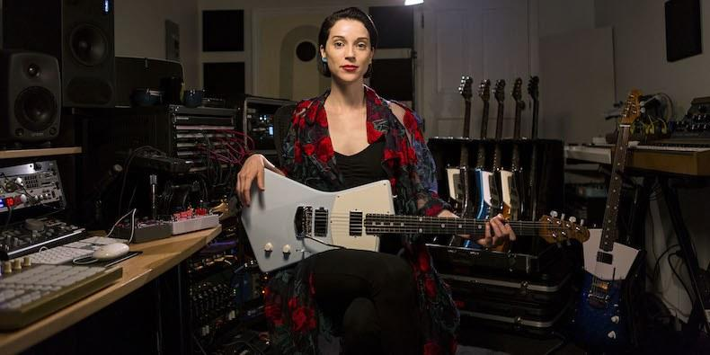 St. Vincent Talks Signature Guitar, Creative Process, More in New Video: Watch
