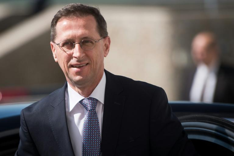 Hungarian Finance Minister Mihaly Varga said his country won concessions to back the global tax deal (AFP/VLADIMIR SIMICEK)