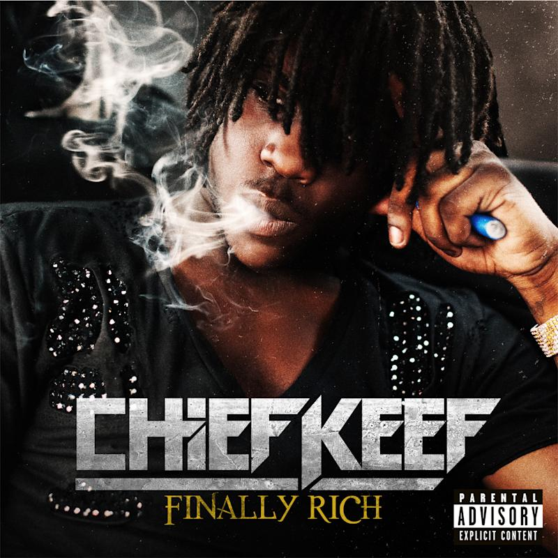 "This CD cover image released by Interscope Records shows ""Finally Rich,"" by Chief Keef. (AP Photo/Interscope Records)"