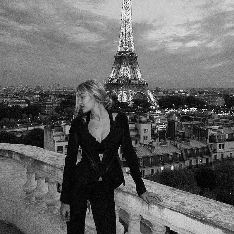 """<p>Doesn't she really stand out in black and white? Oh, Gigi Hadid, pictured in a throwback, does too. (Photo: <a rel=""""nofollow noopener"""" href=""""https://www.instagram.com/p/BA7NFHkjCS7/?hl=en"""" target=""""_blank"""" data-ylk=""""slk:Gigi Hadid via Instagram"""" class=""""link rapid-noclick-resp"""">Gigi Hadid via Instagram</a>) </p>"""