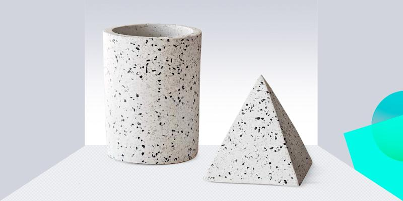 Handcrafted in a family-run workshop in Vietnam, these thoughtfully made pieces will add a welcome retro vibe to your drab cubicle. SHOP NOW: Sepon Terrazzo Desk Set by The Citizenry, $85, the-citizenry.com