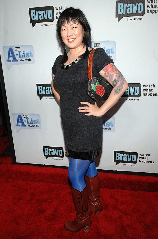 "If stand-up comedian Margaret Cho's aim is to get laughs with this creative ensemble, she's succeeding. Jamie McCarthy/<a href=""http://www.wireimage.com"" target=""new"">WireImage.com</a> - June 4, 2008"