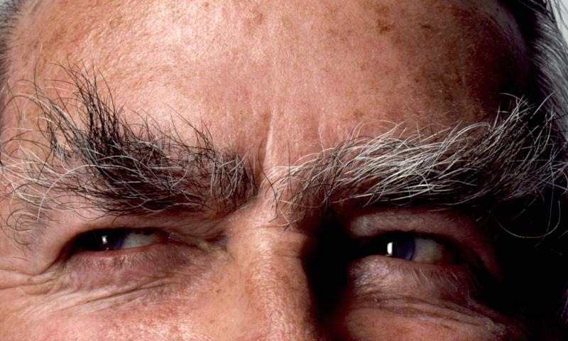 The famous eyebrows of Denis Healey.